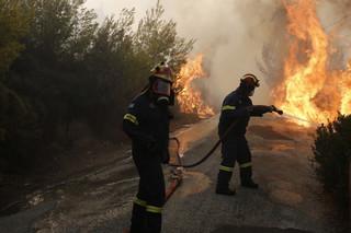 Pożary w Grecji. Polskie biura podróży monitorują sytuację