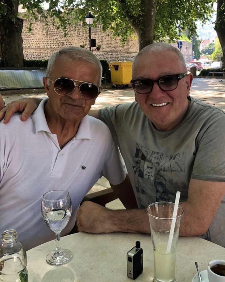 Vladimir Pecelj i Željko Samardžić