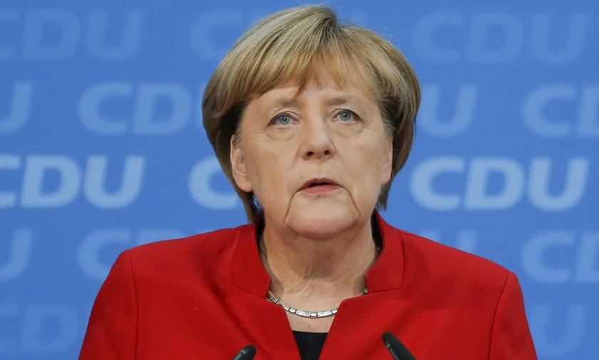 Angela Merkel skrytykowała przemówienie Trumpa