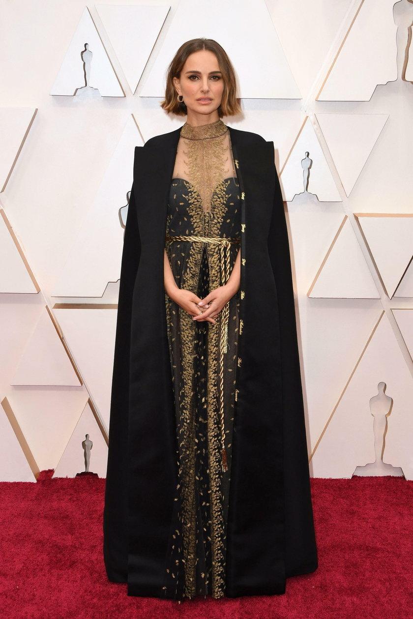 Natalie Portman na 92. gali rozdania Oscarów