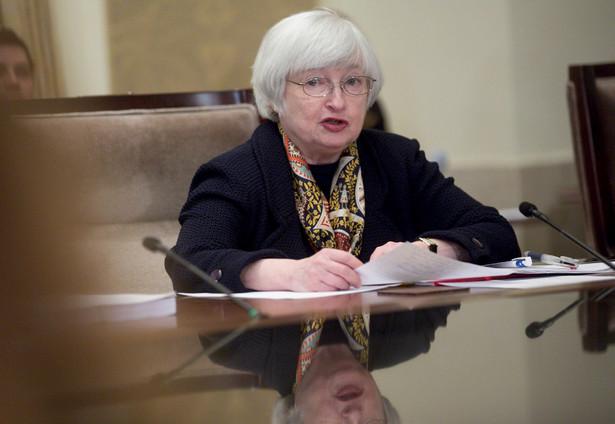 """Prezes Fed Janet Yellen: """"Europejskie kontrakty spadają"""""""
