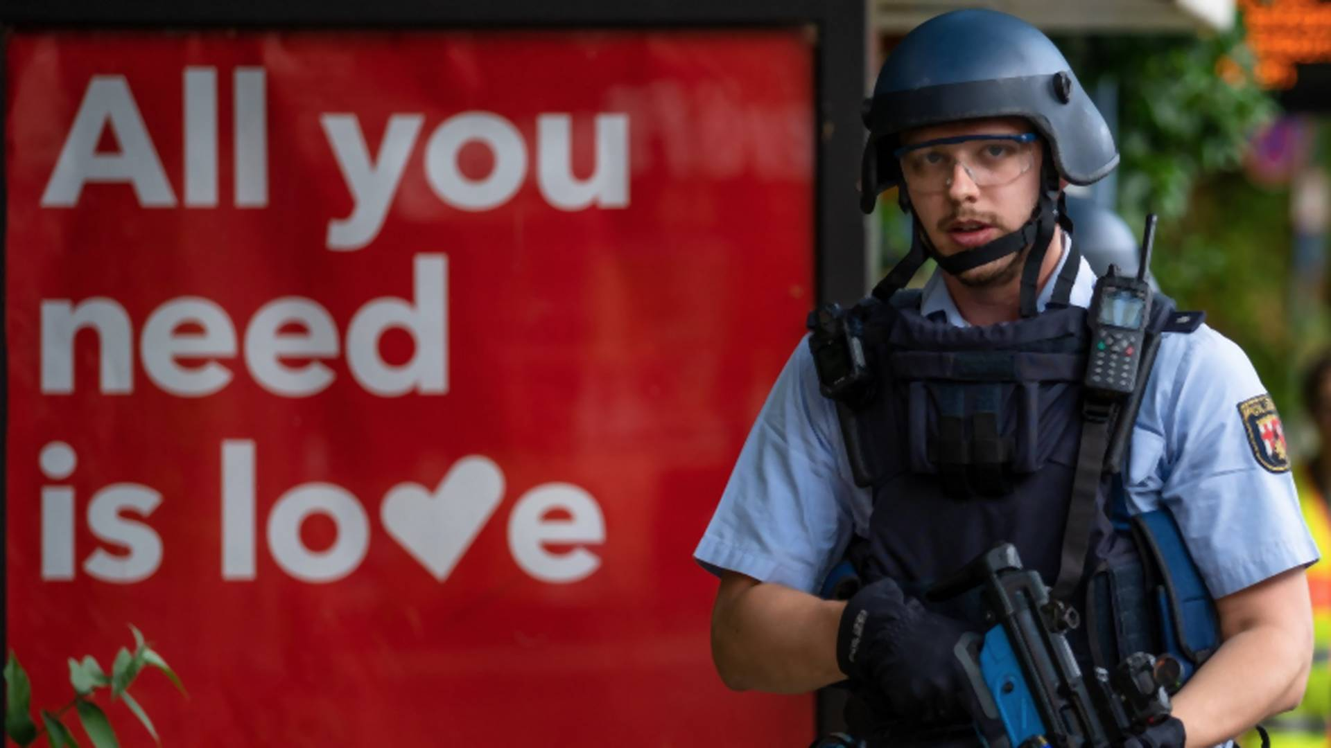 Flirten polizisten