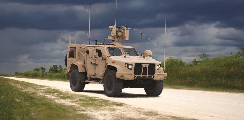 Armia USA kupuje auta z polskimi systemami!