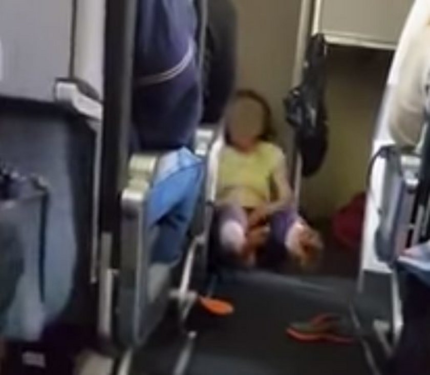 Pasażerka wpadła w szał