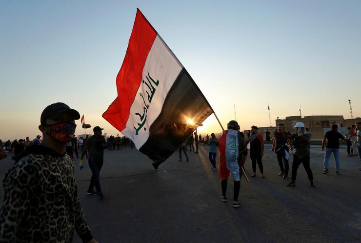 Irak, demonstracije