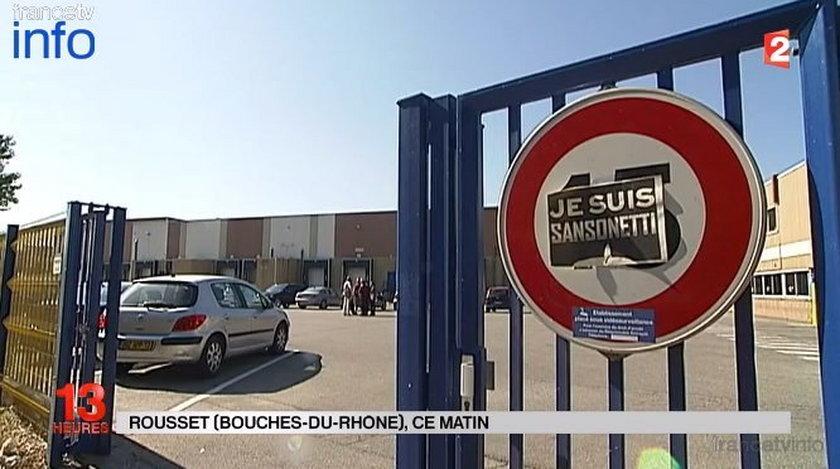 Lidl w Rousset (południowa Francja)