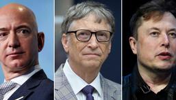 ProPublica revealed tax return information on Jeff Bezos, Bill Gates, and Elon Musk.