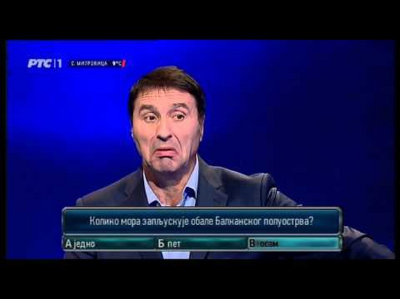 Jovan Memedović u jednoj od emisija