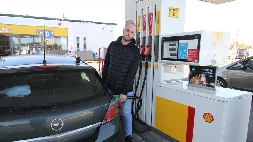 Ceny na stacjach paliw.