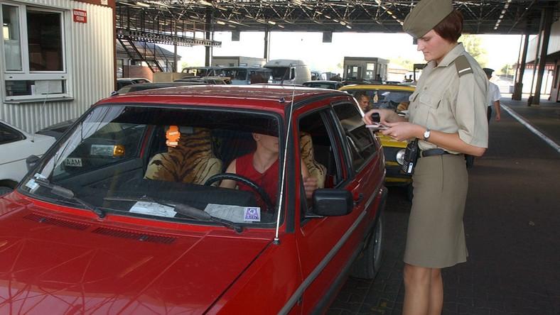 Straż Graniczna. Przejście graniczne w Terespolu