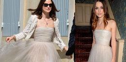 Gwiazda wzięła ślub w starej sukience! Wstyd?