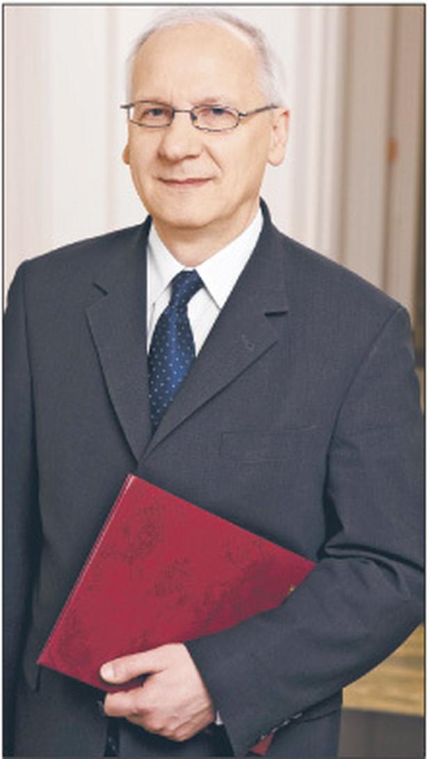 Zbigniew Marciniak profesor, wiceminister nauki i szkolnictwa wyższego Fot. Archiwum