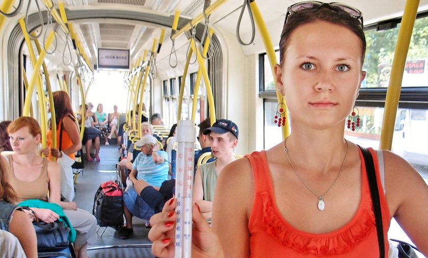 Klimatyzacja w tramwajach w Łodzi