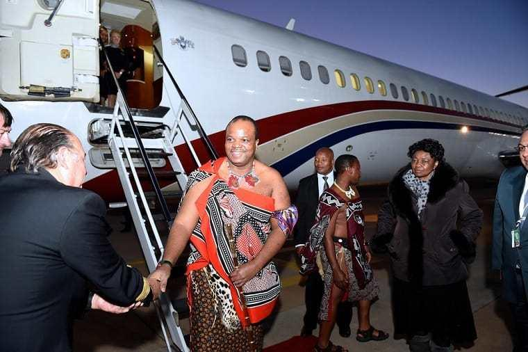 King Mswati III is the third richest African ruler (thisisafrica)
