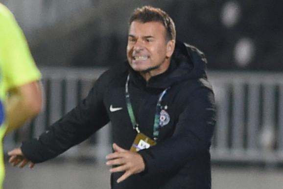 Besni Aleksandar Stanojević NAPAO SUDIJE posle nesrećnog poraza od Genta! Još jedan šok za Partizan - na revanš Belgijancima bez trenera!