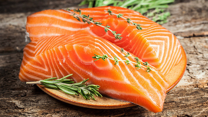 Salmon fatty fish(Retiree News)