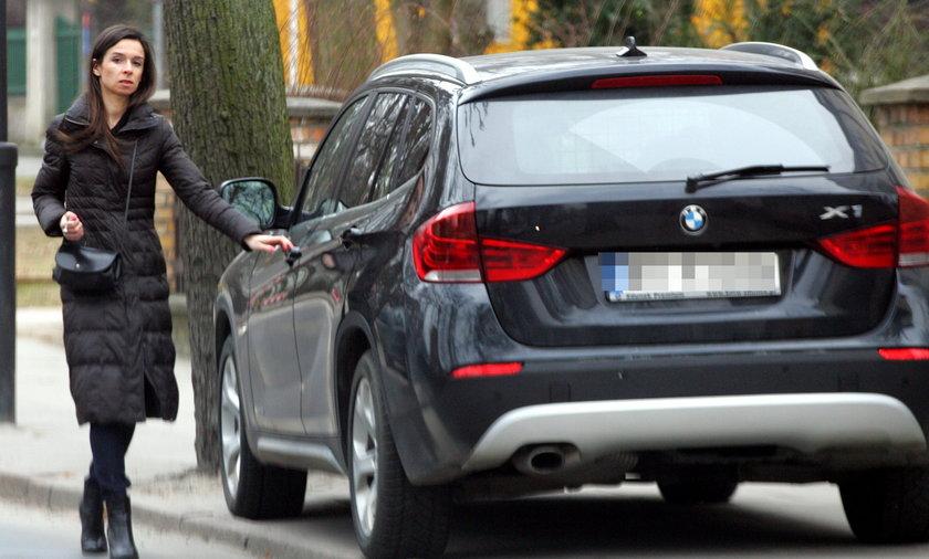Nowy samochód Marty Kaczyńskiej