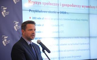 Trzaskowski o odebraniu honorowego obywatelstwa Warszawy JP II: Dziś nie należy podejmować takich decyzji
