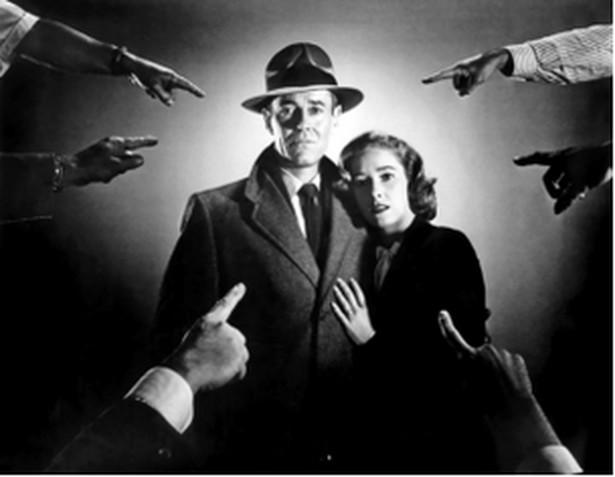 """Henry Fonda i Vera Miles w """"Niewłaściwym człowieku"""""""