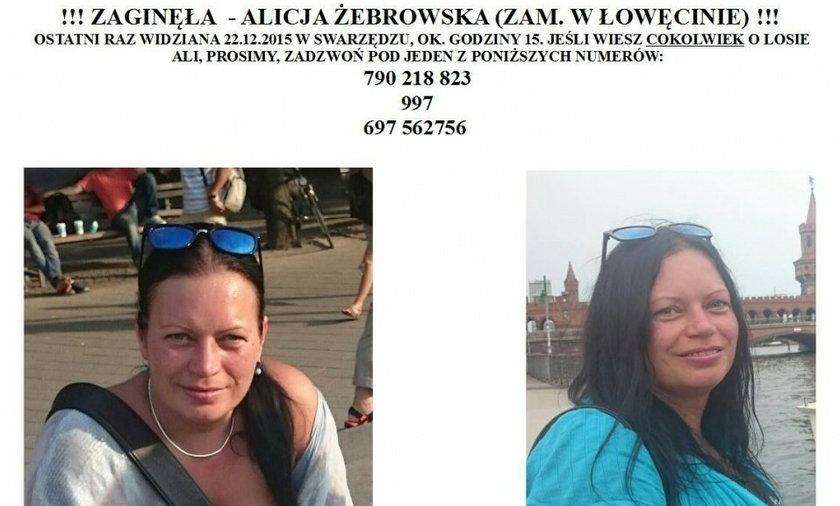 Tajemnicze zaginięcie Alicji Żebrowskiej
