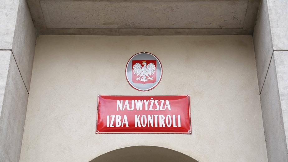 Siedziba NIK w Warszawie