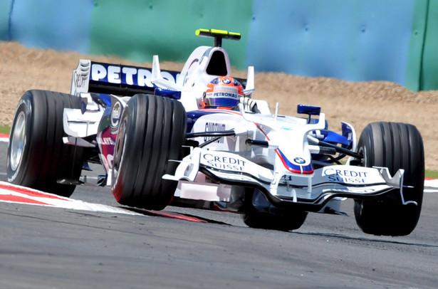 Robert Kubica w bolidzie Formuły 1