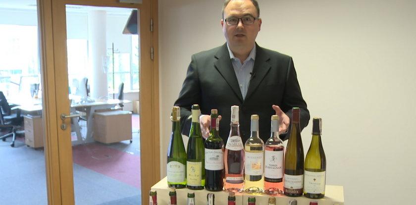 Francuskie wina w dyskontach