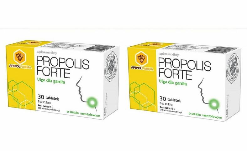 Tabletki Propolis forte wycofane ze sprzedaży. GIS ostrzega: chodzi o pięć partii produktu (fot. gis.gov.pl)