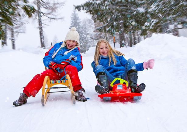 Dzieci na zimowisku