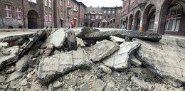 Nikiszowiec: Rozkopali plac i znknęli