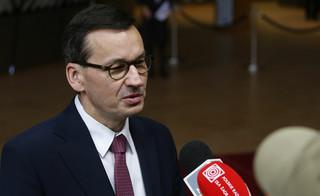 Morawiecki: Unikanie chaotycznego bezrozumnego brexitu powinno być priorytetem