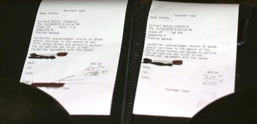 Kelnerka myślała, że to pomyłka. Dostała ponad 4 tys. zł napiwku