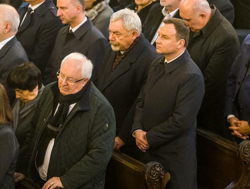 Prezydent w kościele