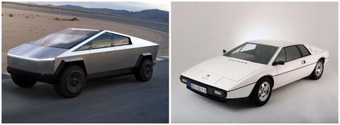 Tesla S Cybertruck Is Inspired By A 1977 James Bond Spy Car