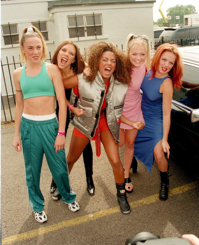 Spice Girls w 1996 roku