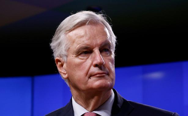 Główny negocjator Barnier był w Polsce na spotkaniu z premierem Mateuszem Morawieckim, jednak było to 27 lutego, czyli więcej niż dwa tygodnie temu.