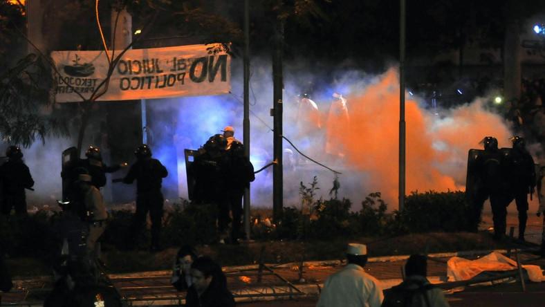Po błyskawicznym impeachmencie Fernando Lugo w stolicy kraju wybuchły zamieszki