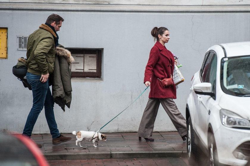 Mąż Marty Kaczyńskiej nie sprząta po psie