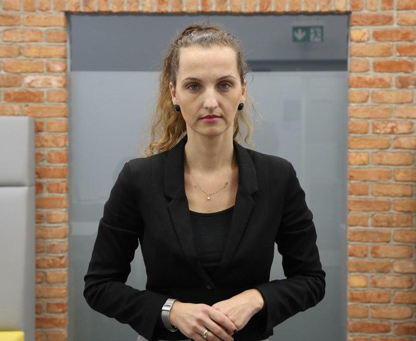 Karolina Gałecka z Zarządu Dróg Miejskich
