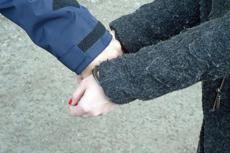Hapšenje žena