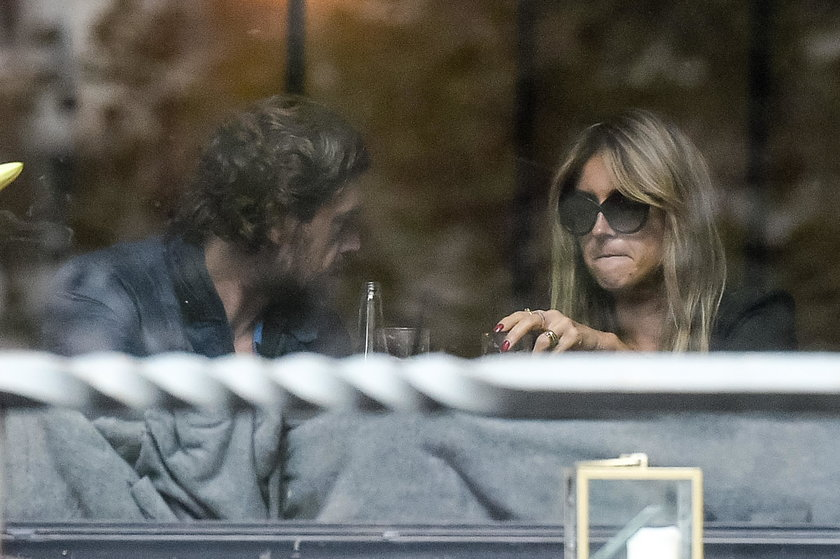 Karolina Szostak na obiedzie z partnerem
