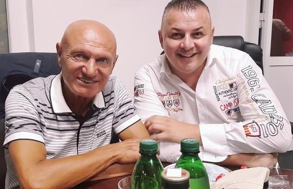 Šaban Šaulić i Branimir Klepić