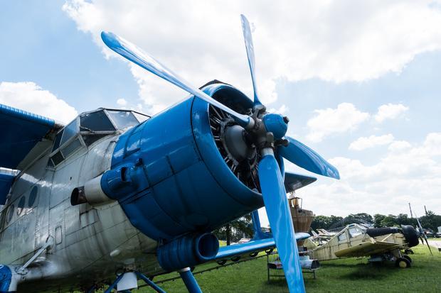 Zewnętrzna ekspozycja, Muzeum Lotnictwa w Krakowie