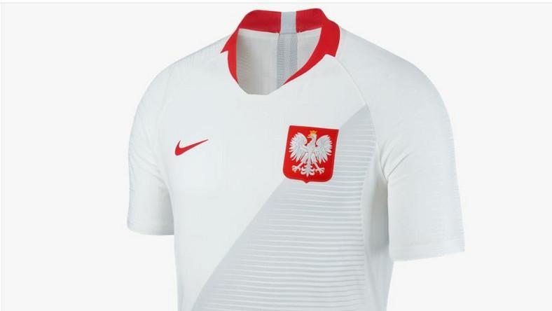 286daa002 Oficjalna koszulka reprezentacji Polski na mundial 2018 w sprzedaży ...