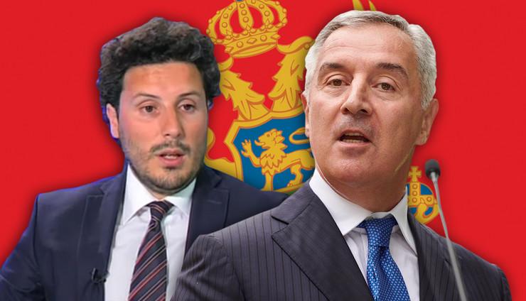 djukanovic abazovic RAS Tanjug sluzba za informisanje predsednika crne gore Shutterstock Youtube A1TV Montenegro