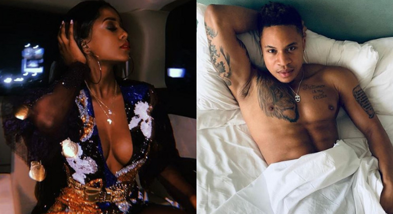 Vanessa Mdee goes on a Baecation with Hollywood actor Rotimi  in Miami (Photos/Video)