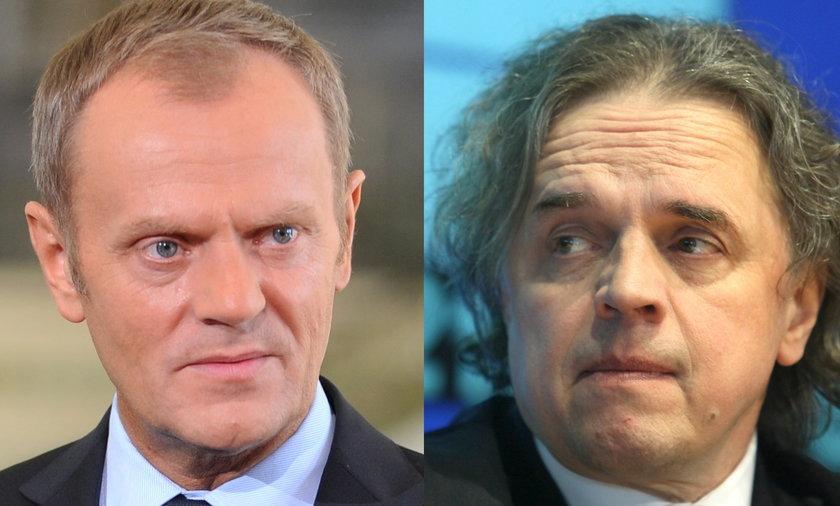 Donald Tusk i Krzysztof Kilian