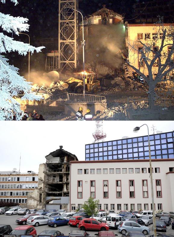 Bombardovanje zgrade RTS