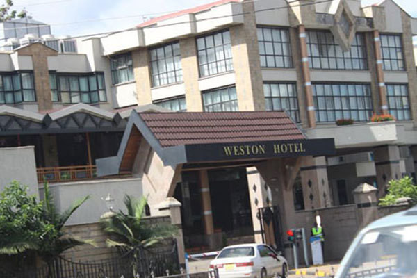 File image of Weston Hotel