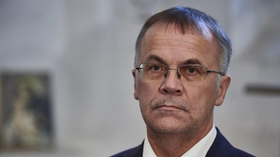 Wiceminister kultury i dziedzictwa narodowego Jarosław Sellin